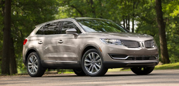 A 2017 Lincoln MKX.