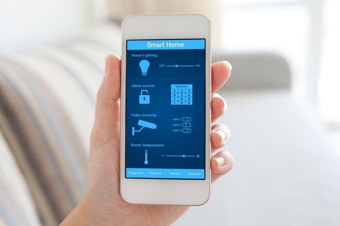 Smart phone security app