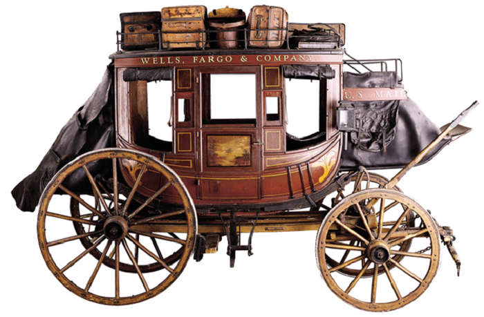 Wells Fargo Stagecoach.