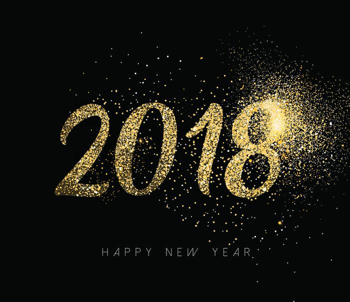 2018 in gold dust