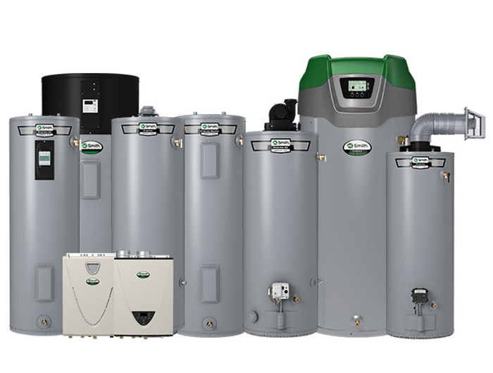 A.O. Smith water heaters.