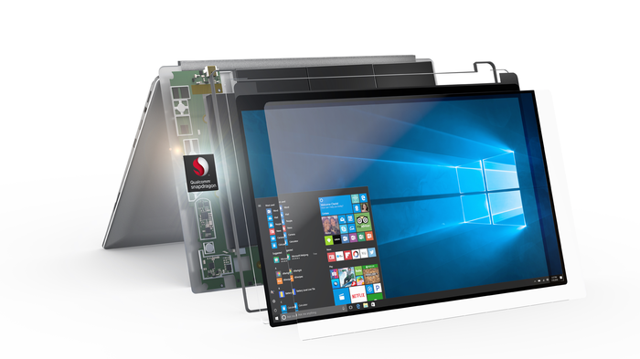 A Qualcomm-powered Windows PC.