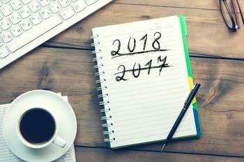 2017 scratched thru with 2018 underlined