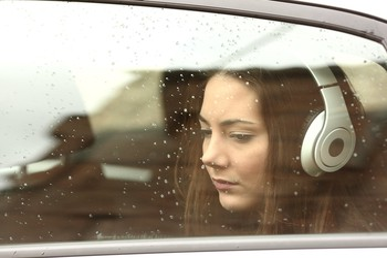 AG sad headphones