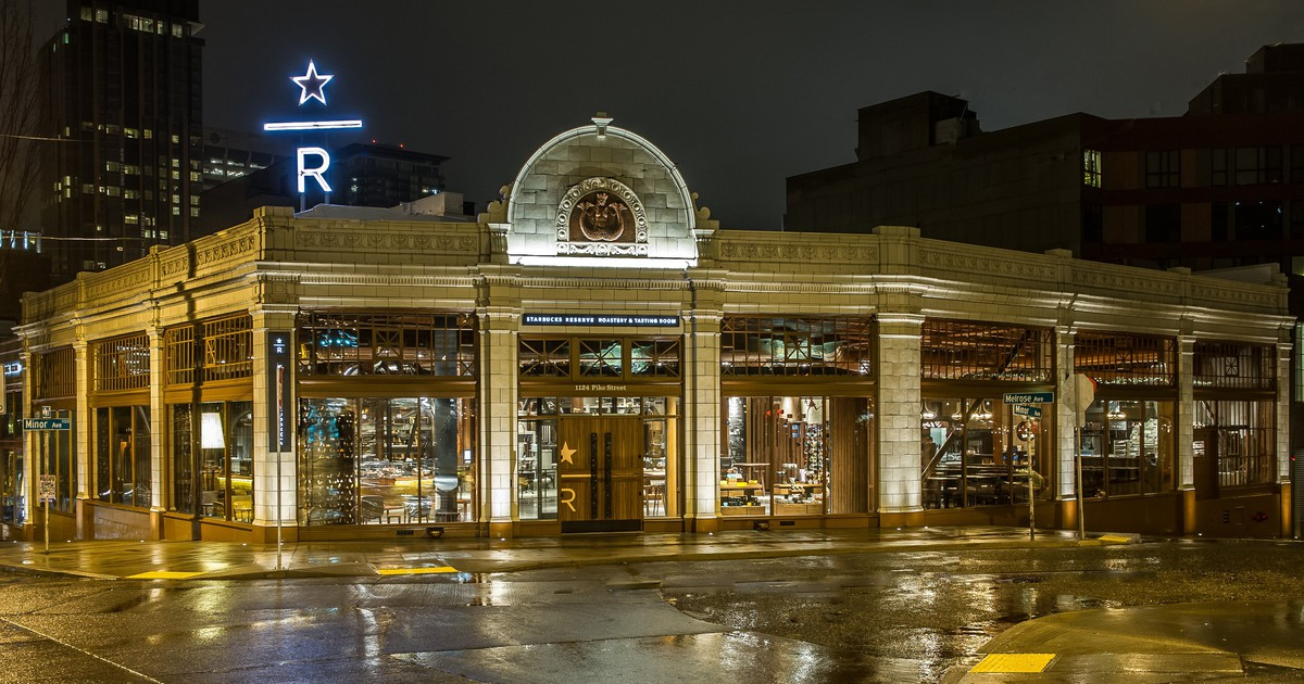Starbucks Opens Its Second Roastery as It Aims to Move Upmarket