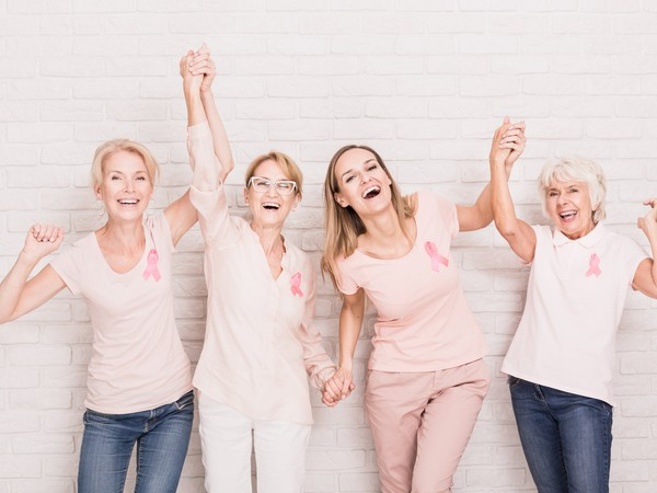 cancer breast cancer women happy GettyImages-828521462