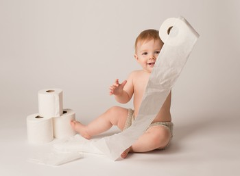 baby toilet paper