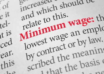 Minimum wage GettyImages-480321400