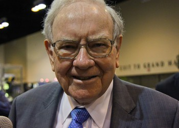 TMF Warren Buffett smiling