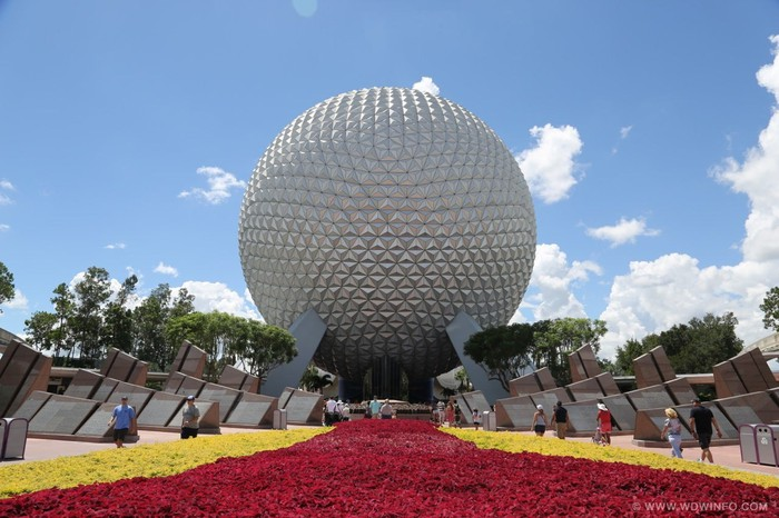 Epcot Center in Orlando, Florida.