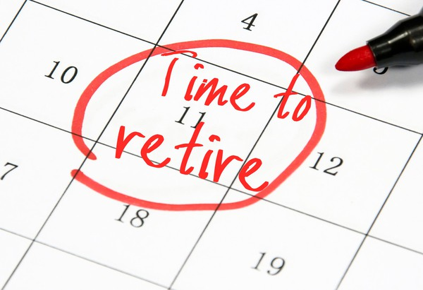 retirement date goal calendar