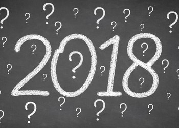 2018 with question marks