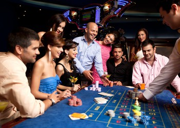People Playing Games in a Casino