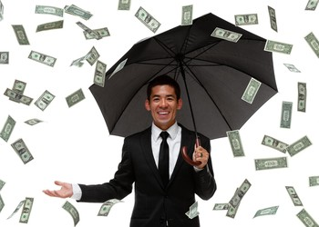 Raining Money -- GettyImages-450806655