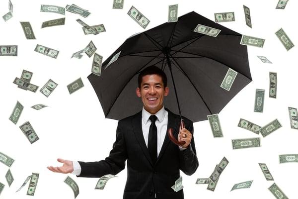 Raining Money -- GettyImages-450806655