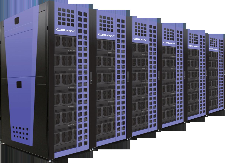 The Cray CS300-AC.