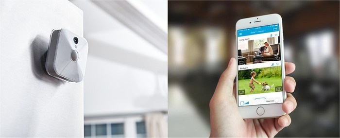 Blink's indoor camera and app.