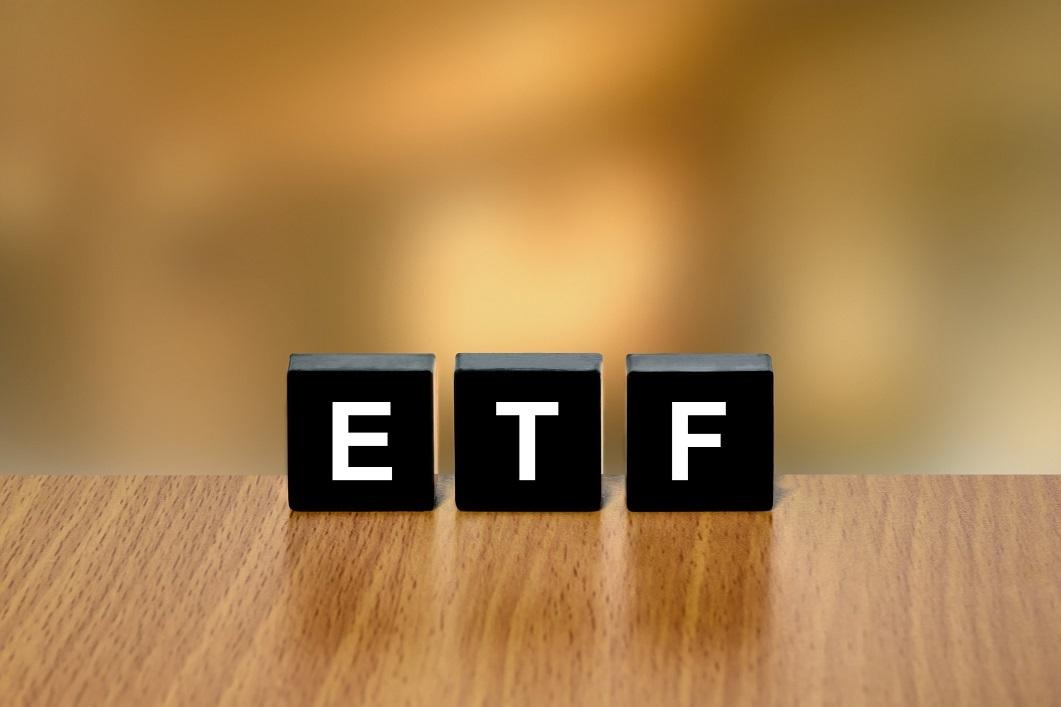 """Letter blocks spelling out """"ETF"""""""