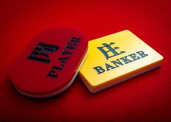 baccarat player or banker are the only outcomes getty