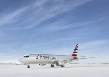 Airline-American Airlines Boeing 737-AAL-BA