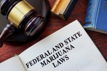 Federal State Marijuana Laws Gavel Cannabis THC Pot Weed Getty