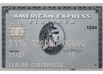 AmEx Platinum card by AmEx