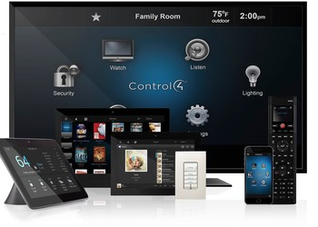 Control4-touchscreens