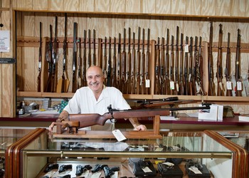 guns firearms store dealer getty