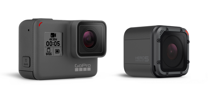 GoPro's HERO5 and HERO5 Session cameras