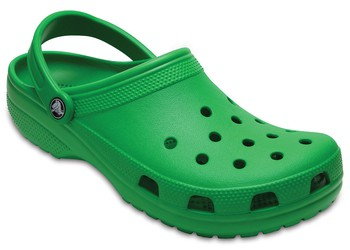 crocs green clog