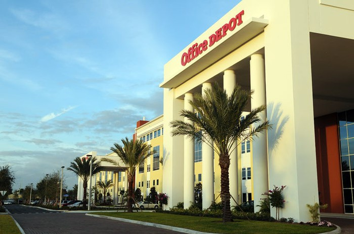 Office Depot headquarters in Florida