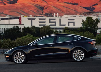 First Production Model 3 - VIN001