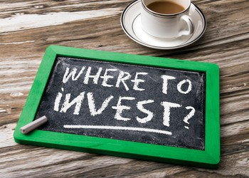 Where to invest sign in chalk 1500