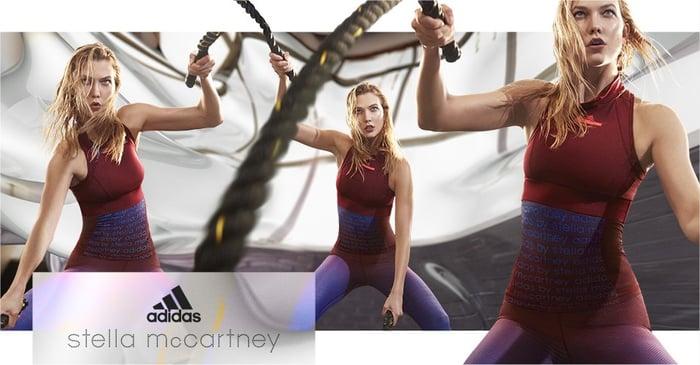 Adidas' Stella McCartney apparel.