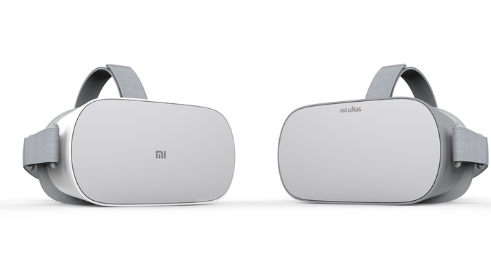 The Mi VR Standalone and Oculus Go.