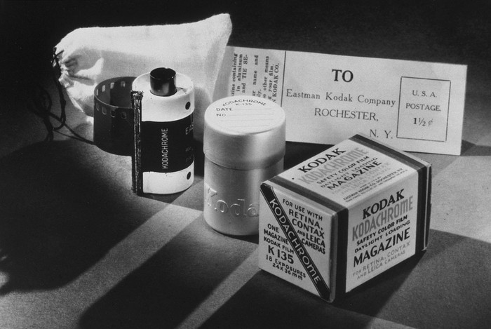 Kodak film products in its early years