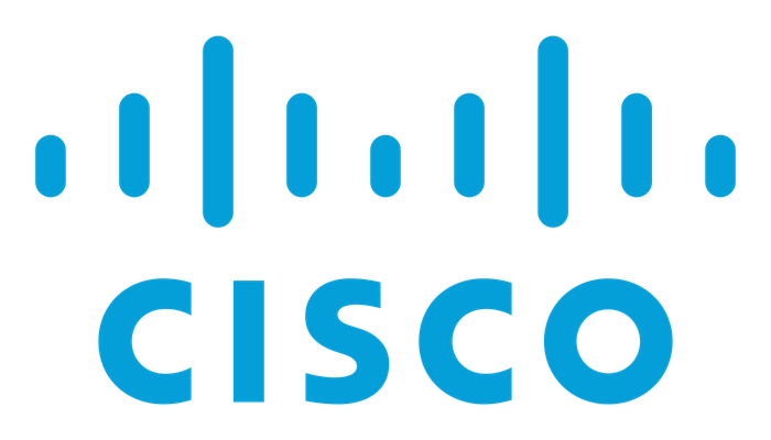Cisco's logo.