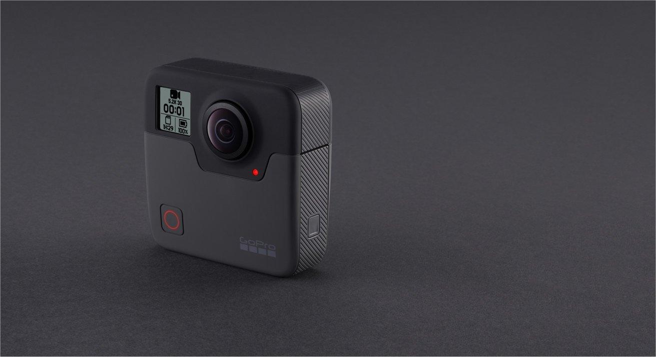 GoPro's Fusion camera.