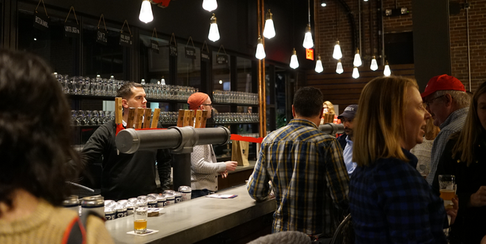 Boston Beer's new taproom