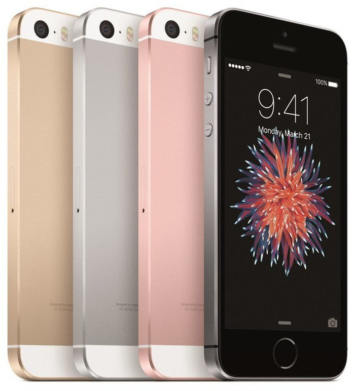Apple's iPhone SE lineup.