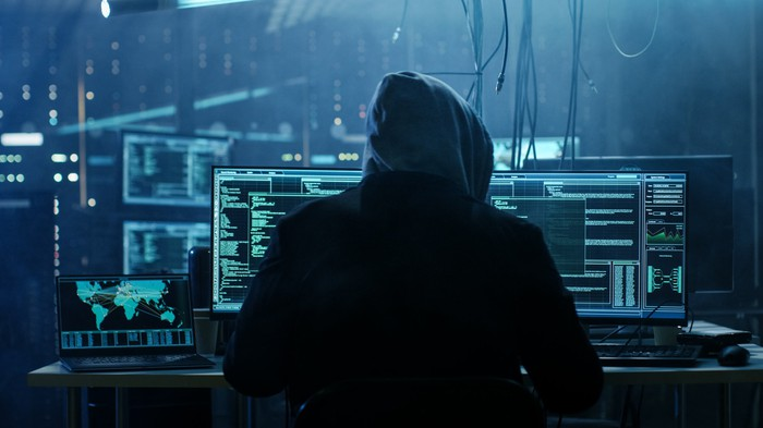 Dangerous Hooded Hacker Breaks into Government Data Servers