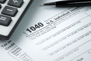 tax return IRS form 1040