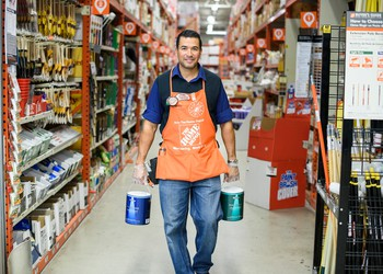 Home Depot Associate Image source Home Depot