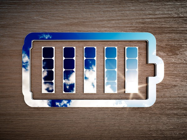 Battery Made of Mirrors