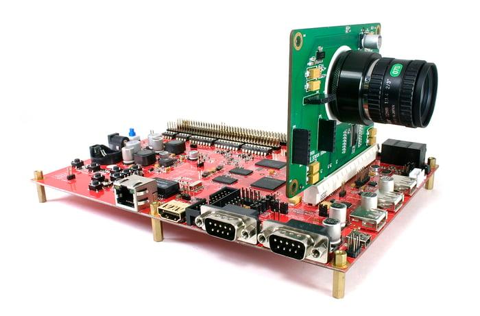 Ambarella's new camera chip.