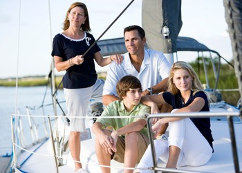 family on a boat_GettyImages-102723958