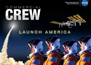Commercial Crew promo poster IS NASA