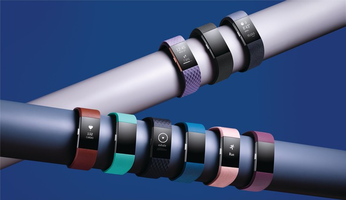 The Fitbit Charge 2.