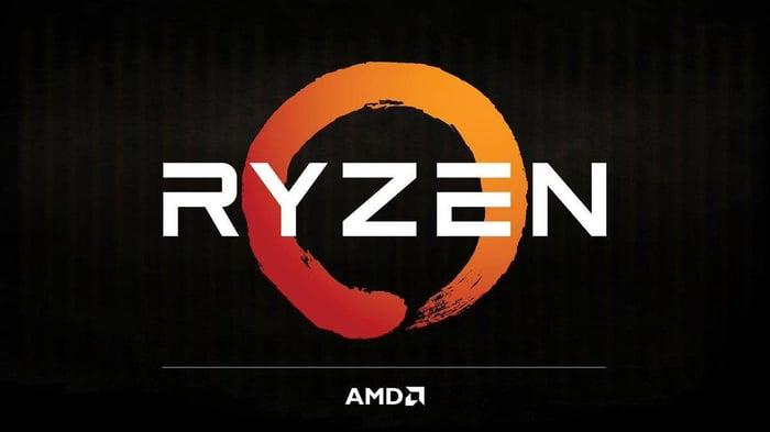 AMD Ryzen logo.