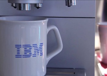 IBM coffee mug